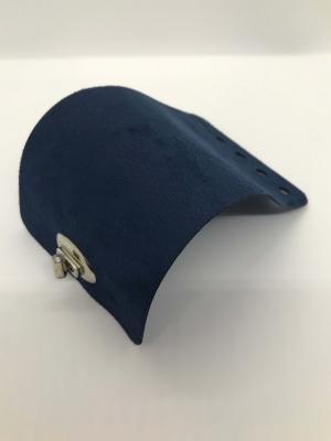 Textilbőr táskazár-kék