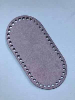 Textilbőr táska alap-pasztell lila
