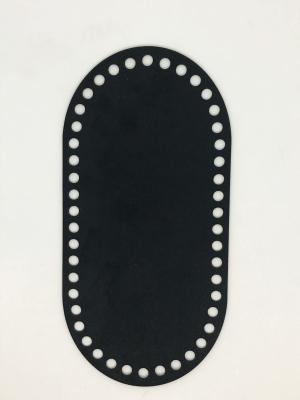 Textilbőr táska alap-fekete