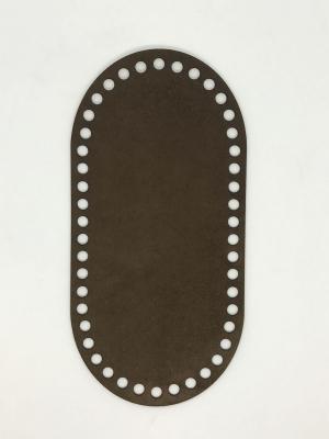 Textilbőr táska alap-barna